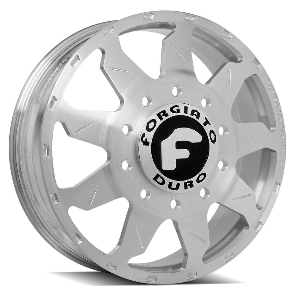 Forgiato Montagna Dually Brushed Finish Wheels