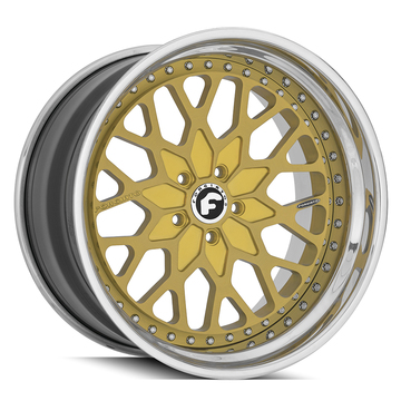 Forgiato Nido-SE Gold Finish Wheels