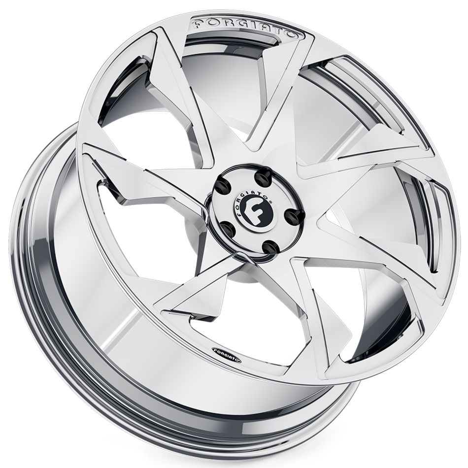 Forgiato Oltore-M Chrome Finish Wheels