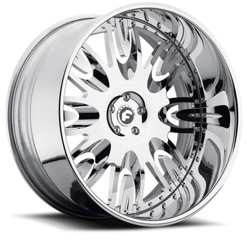 Forgiato Ovale Chrome Finish Wheels