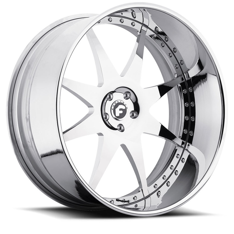 Forgiato Piastra Chrome Finish Wheels