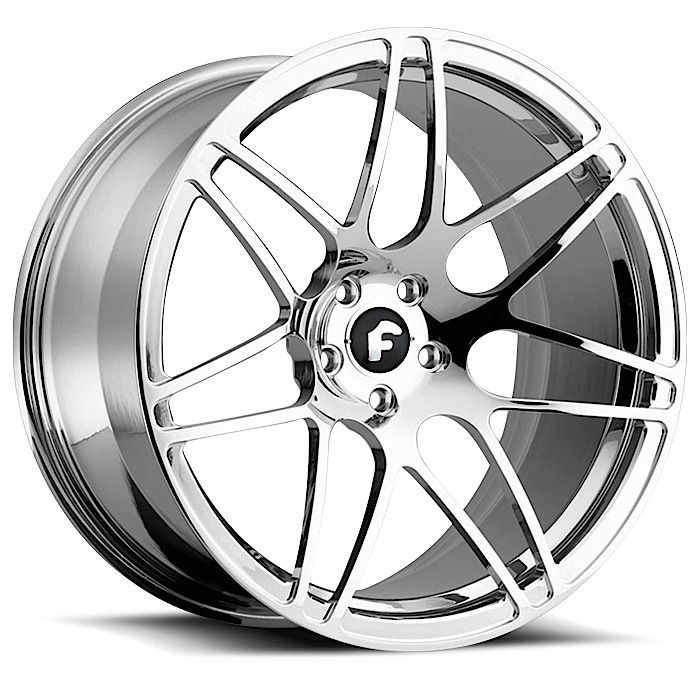 Forgiato Pinzette-M Chrome Finish Wheels
