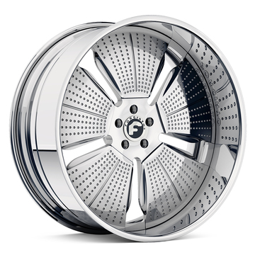 Forgiato Puntini Chrome Finish Wheels