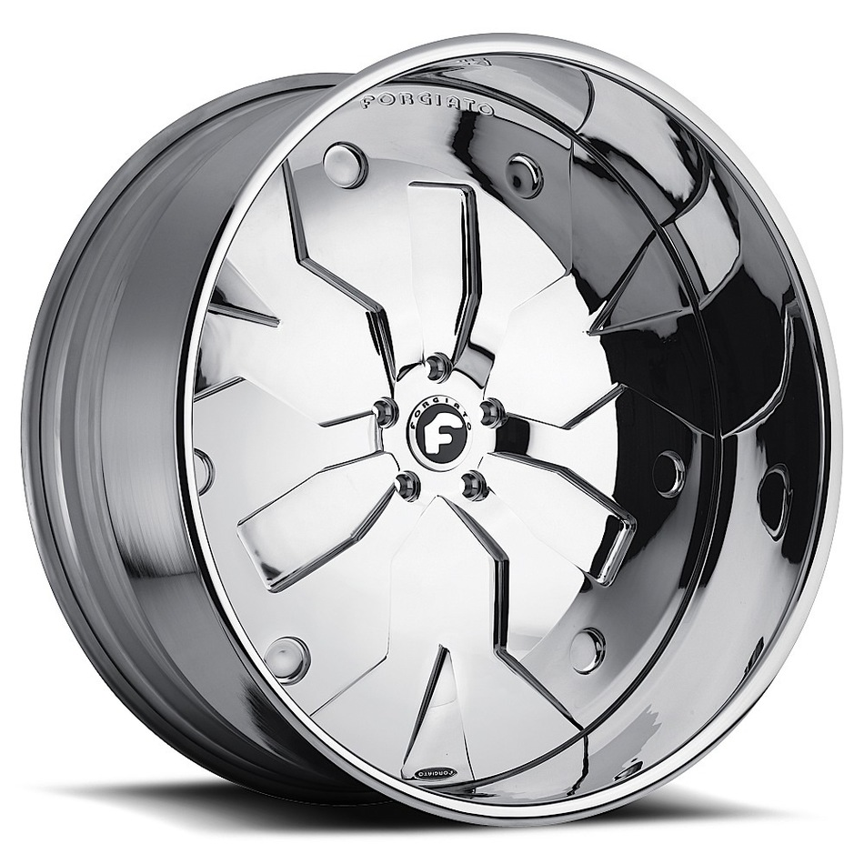Forgiato Razo-L Chrome Finish Wheels