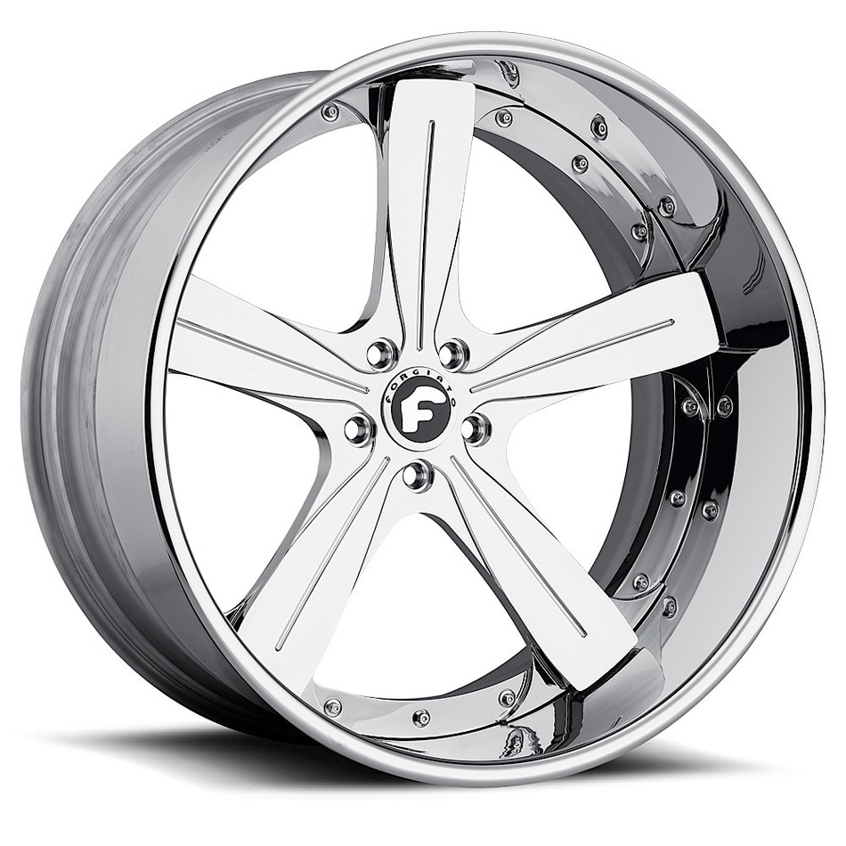 Forgiato Ritorno Chrome Finish Wheels