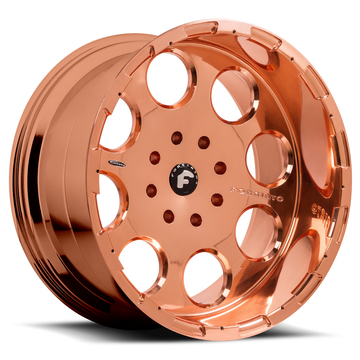 Forgiato Rivoto-T Rose Gold Finish Wheels