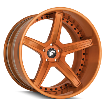 Forgiato S201 Orange Finish Wheels