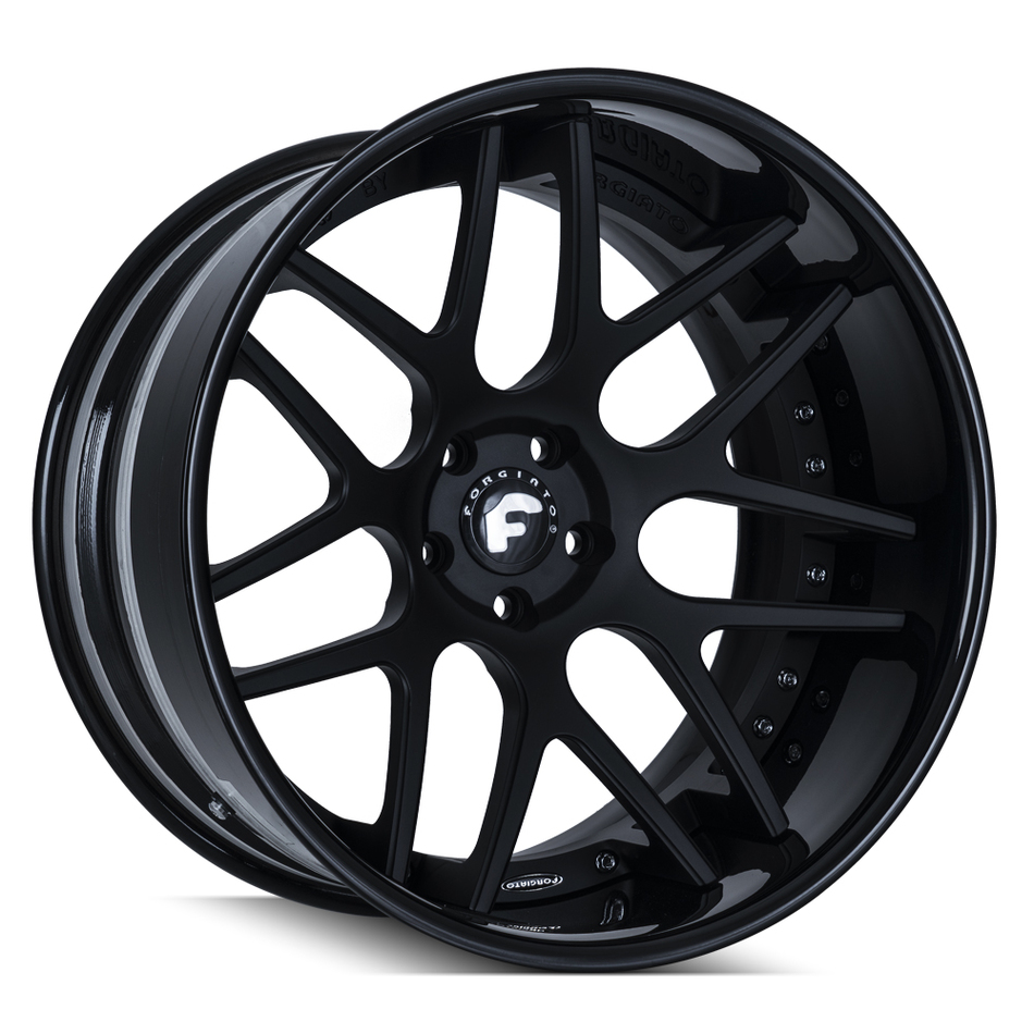 Forgiato S202 Black Finish Wheels
