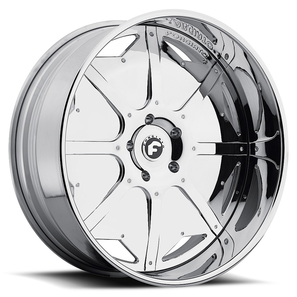 Forgiato Scudo Chrome Finish Wheels