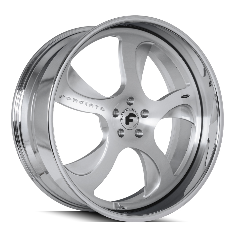 Forgiato Scythe-B Chrome and Brushed Finish Wheels