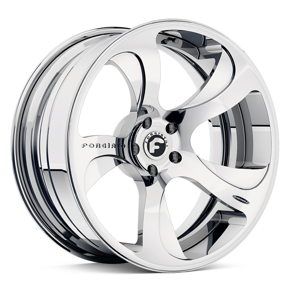 Forgiato Scythe-ECL Chrome Finish Wheels
