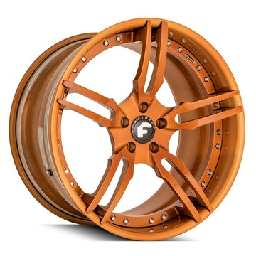 Forgiato Sedici-5-ECL Brushed Gold Finish Wheels