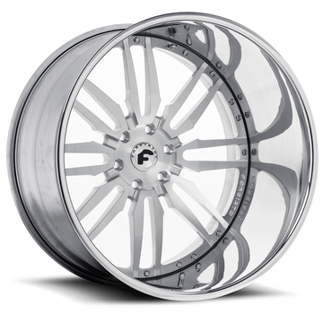 Forgiato Sedici Chrome Finish Wheels
