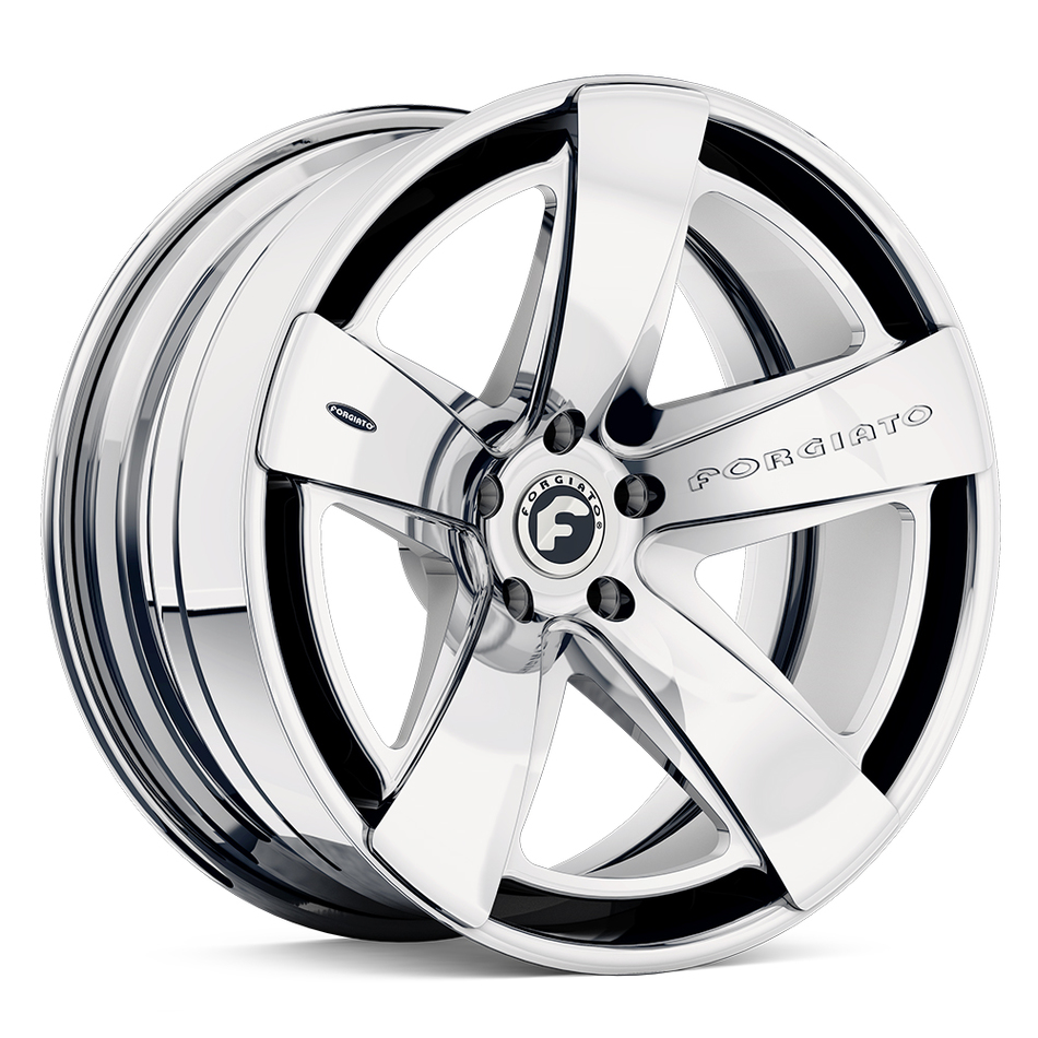 Forgiato Simplice-ECL Chrome Finish Wheels