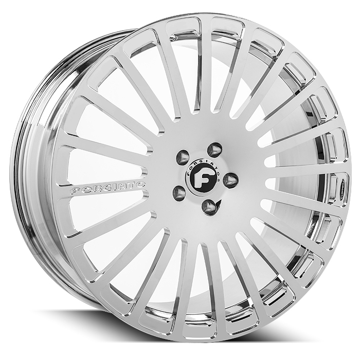 Forgiato Singolo-M Chrome Finish Wheels