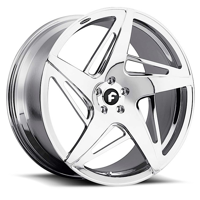 Forgiato Spacco-M Chrome Finish Wheels