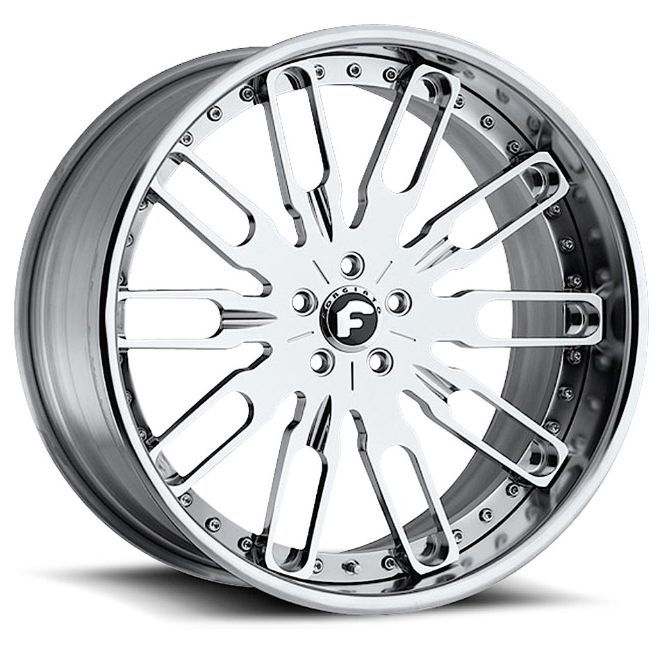 Forgiato Taglio Chrome Finish Wheels