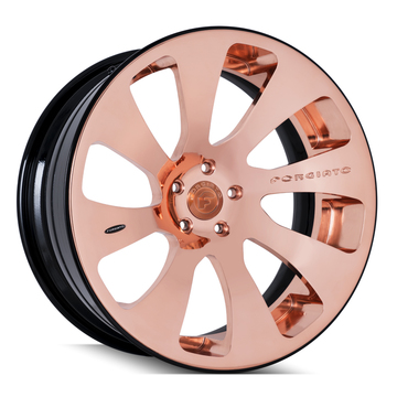 Forgiato Tasca-ECL Copper and Black Finish Wheels