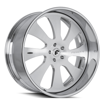 Forgiato Tasca Brushed Finish Wheels