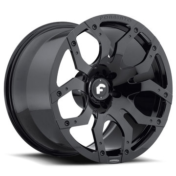Forgiato Tello-M Black Finish Wheels