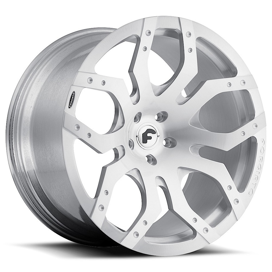 Forgiato Tello-M Satin Finish Wheels