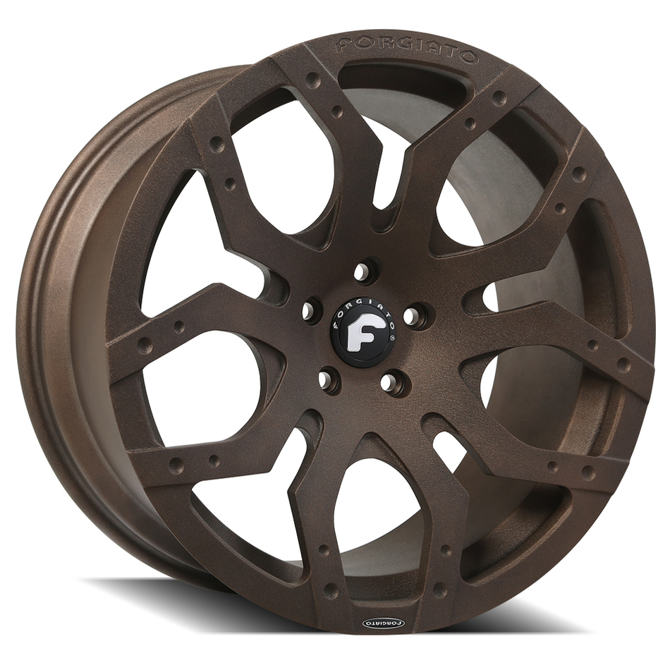 Forgiato Tello-M Brown Finish Wheels