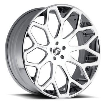 Forgiato Tessi-ECL Chrome Finish Wheels