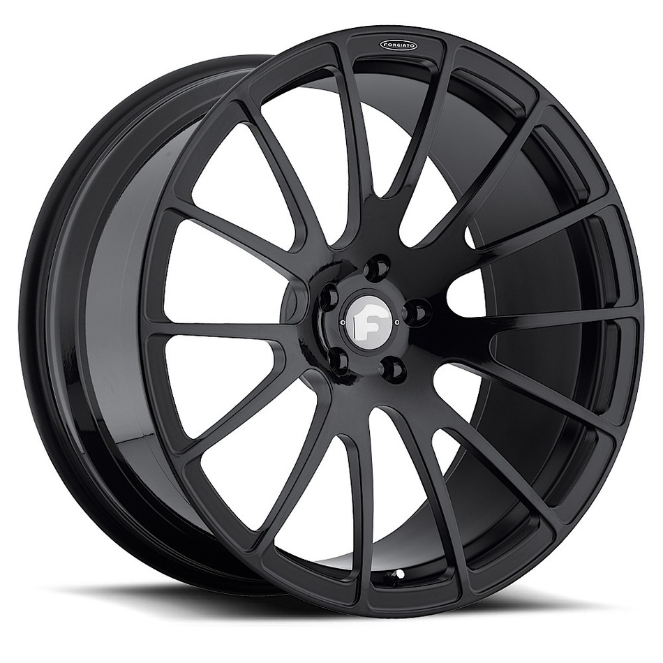 Forgiato Titanio-M Black Finish Wheels