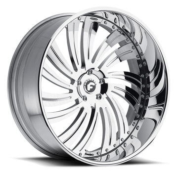 Forgiato Turbinata-L Chrome Finish Wheels