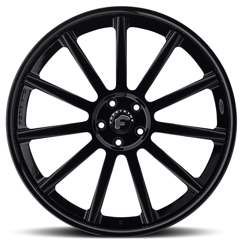 Forgiato Undice-C Black Finish Wheels