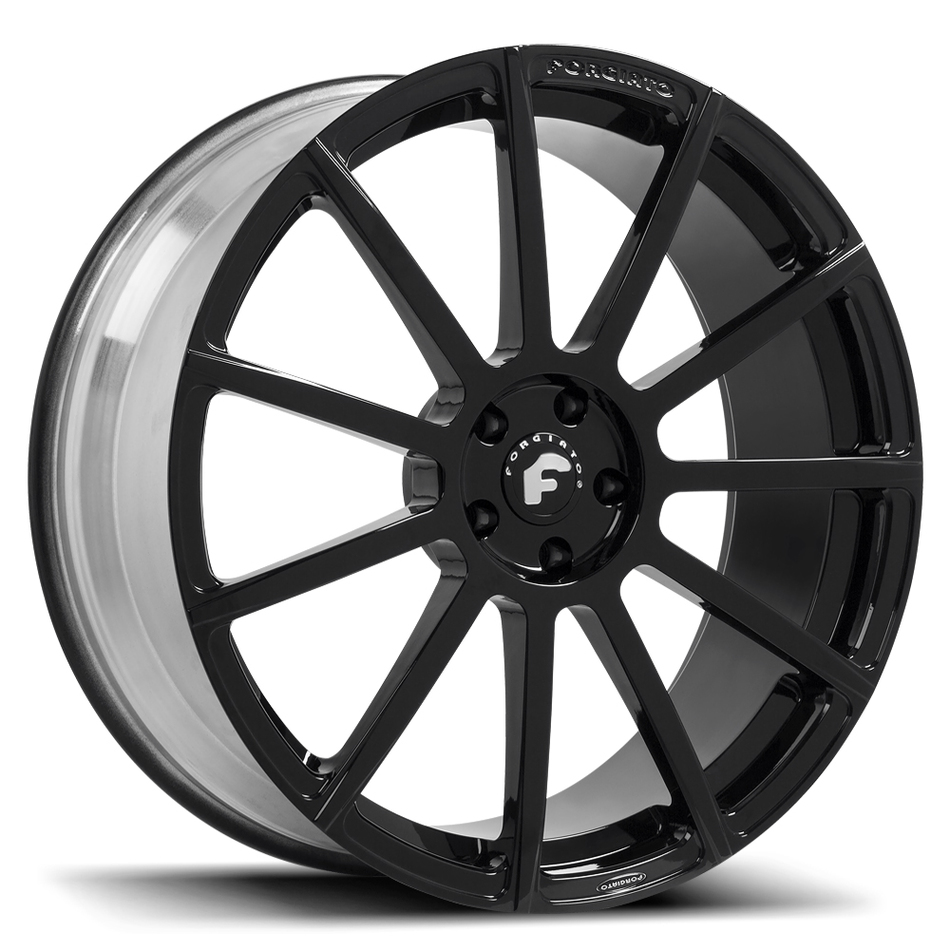 Forgiato Undice-M Black Finish Wheels