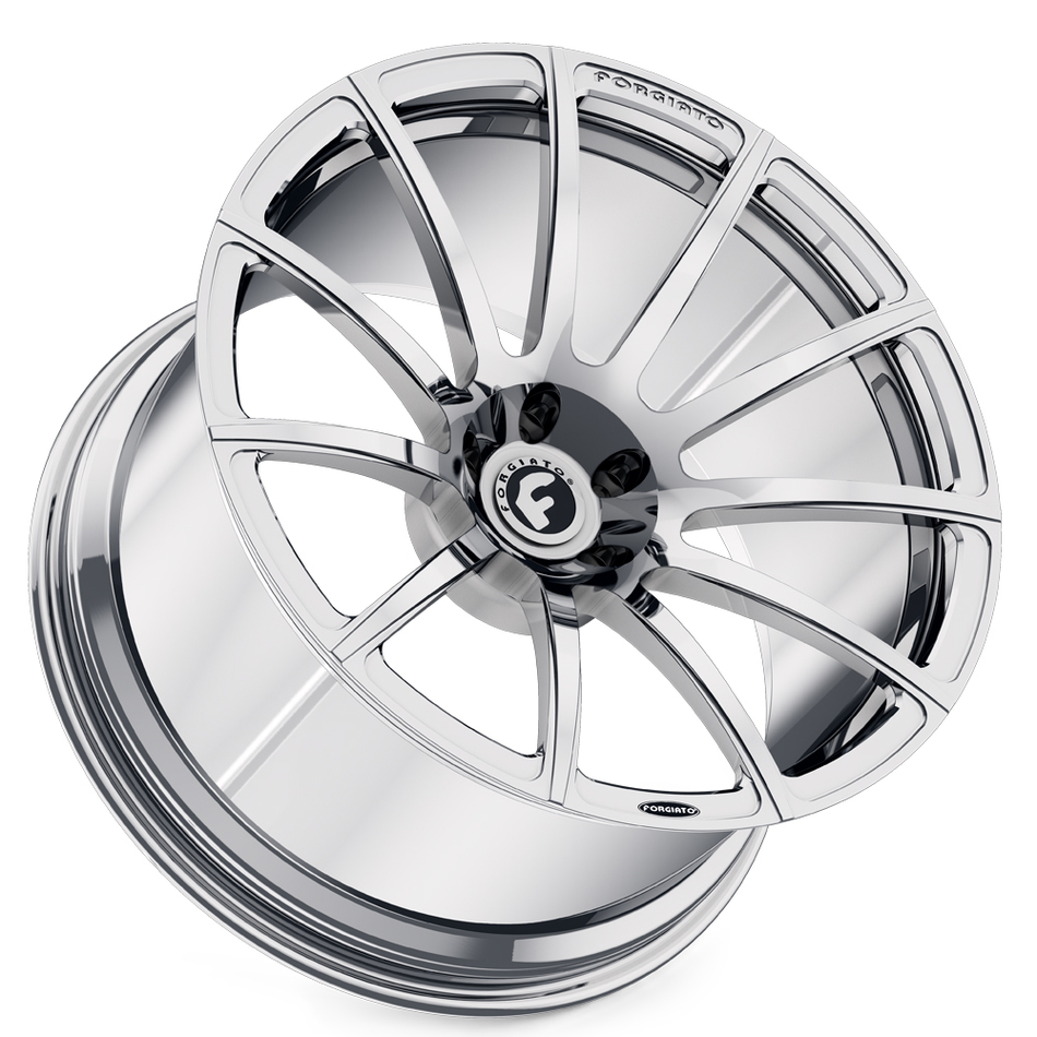 Forgiato Undice-M Black Chrome Wheels