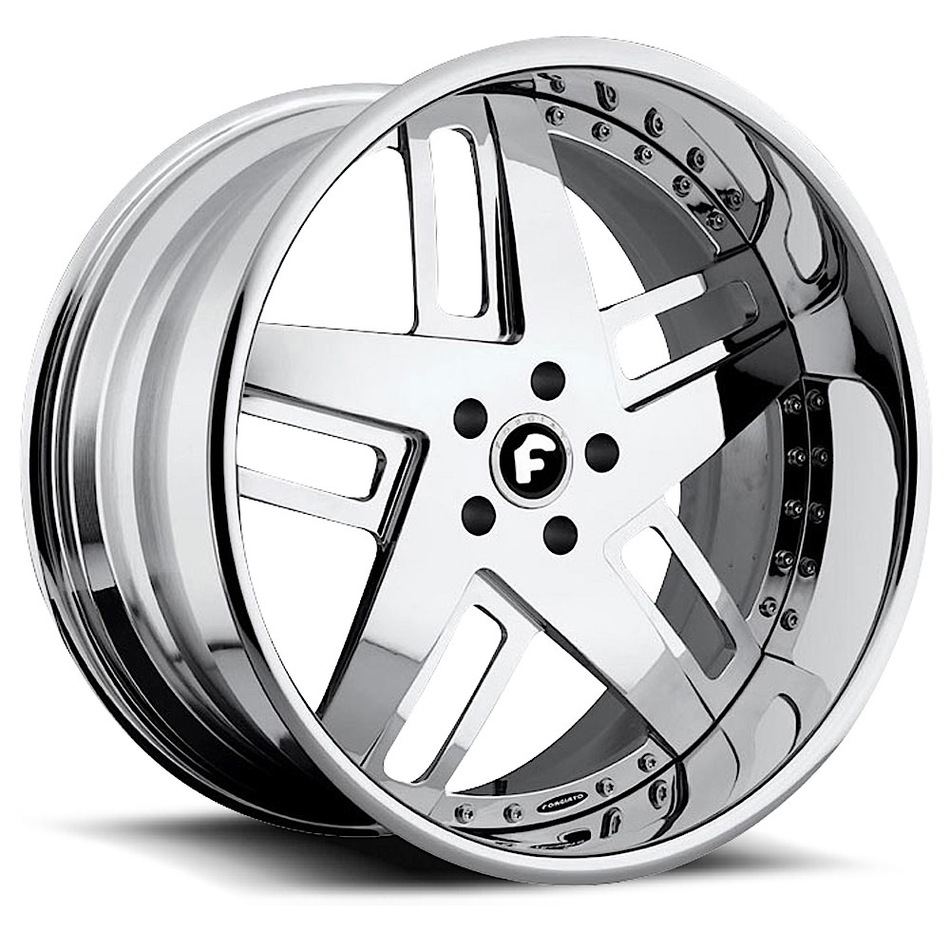 Forgiato Veccio Chrome Finish Wheels