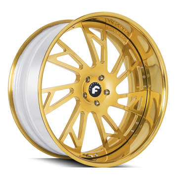 Forgiato Veraso Gold Finish Wheels