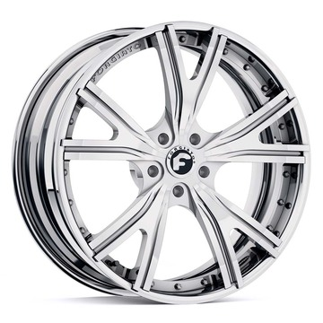 Forgiato Voglia-ECL Chrome Finish Wheels