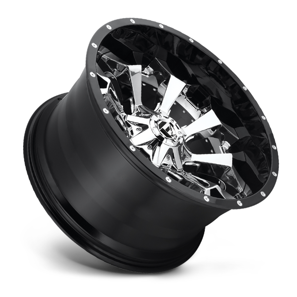Fuel Assault D246 Two Piece Off-Road Wheels
