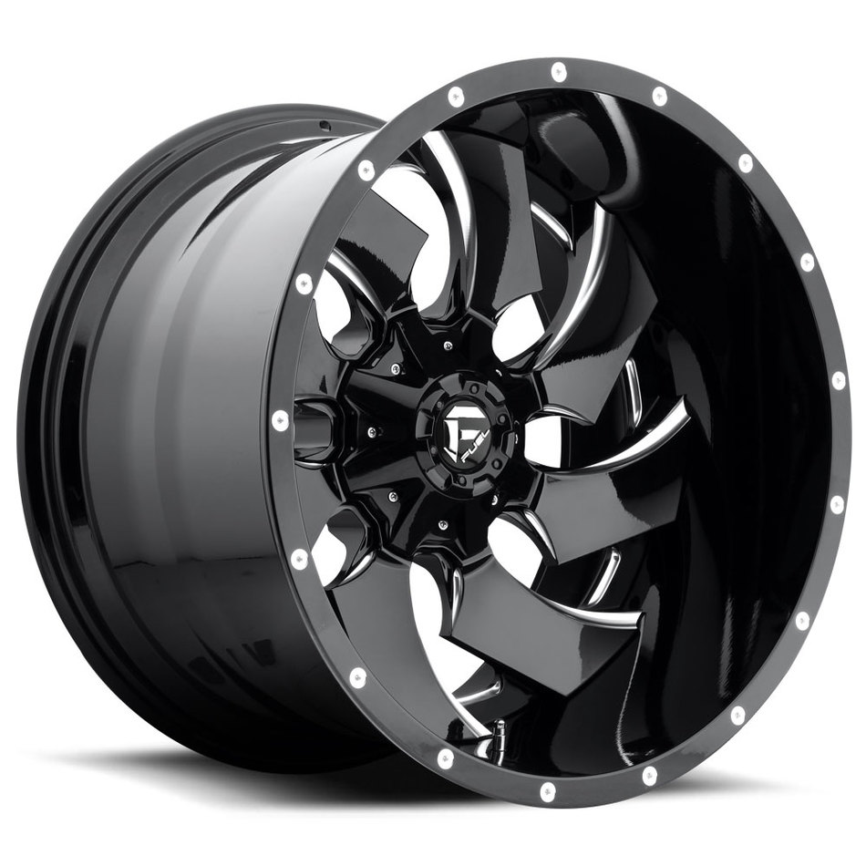 Fuel Cleaver D239 Two Piece Off-Road Wheels