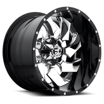 Fuel Cleaver D240 Two Piece Off-Road Wheels
