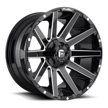 Fuel Contra D615 One Piece Off-Road Wheels