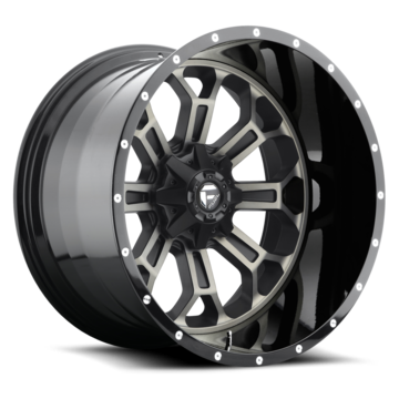 Fuel Crush Two Piece Wheels - D268