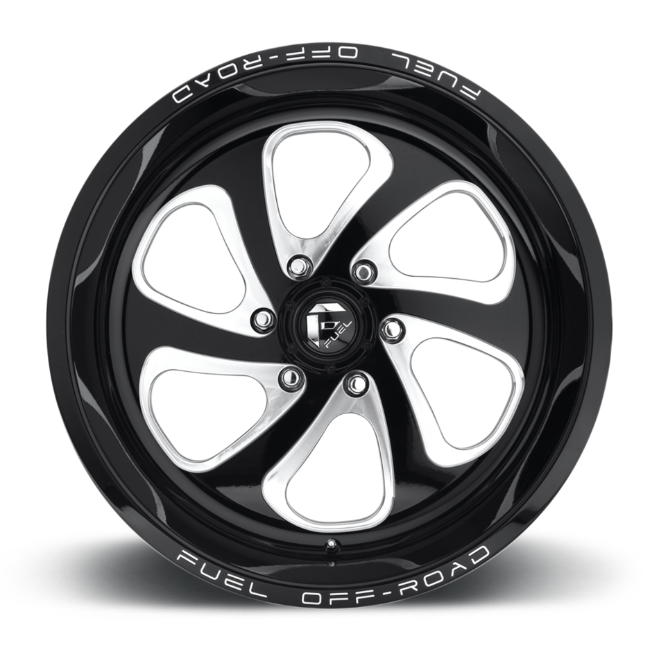 Fuel Flow 6 D587 One Piece Off-Road Wheels