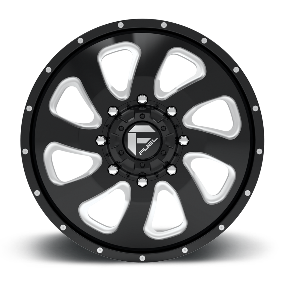Fuel Offroad Flow D269 Dually One Piece Wheels