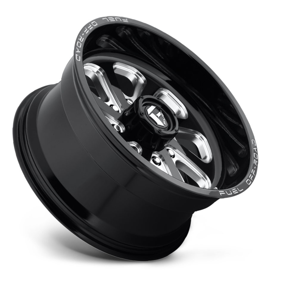 Fuel Flow D587 One Piece Off-Road Wheels