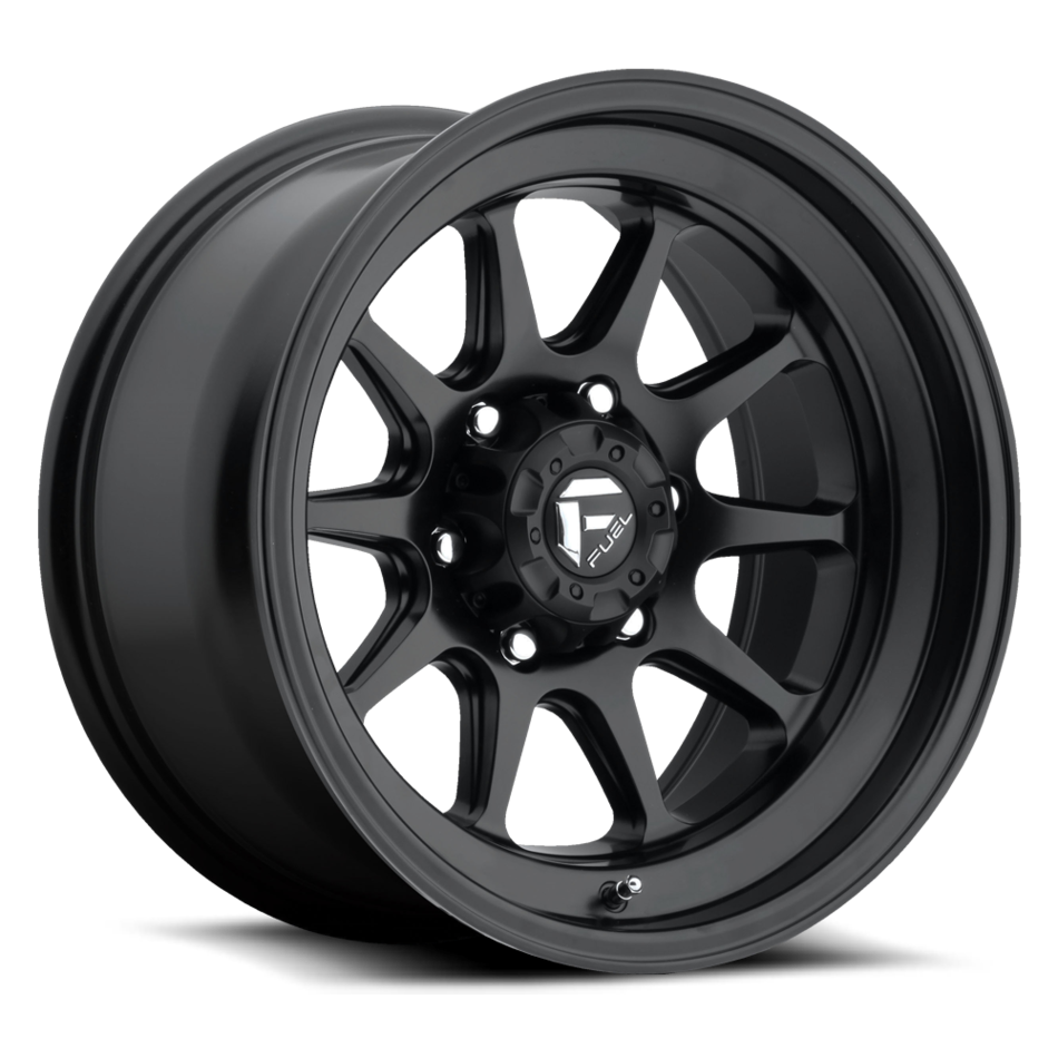Fuel Formula D559 Matte Black One Piece Off-Road Wheels