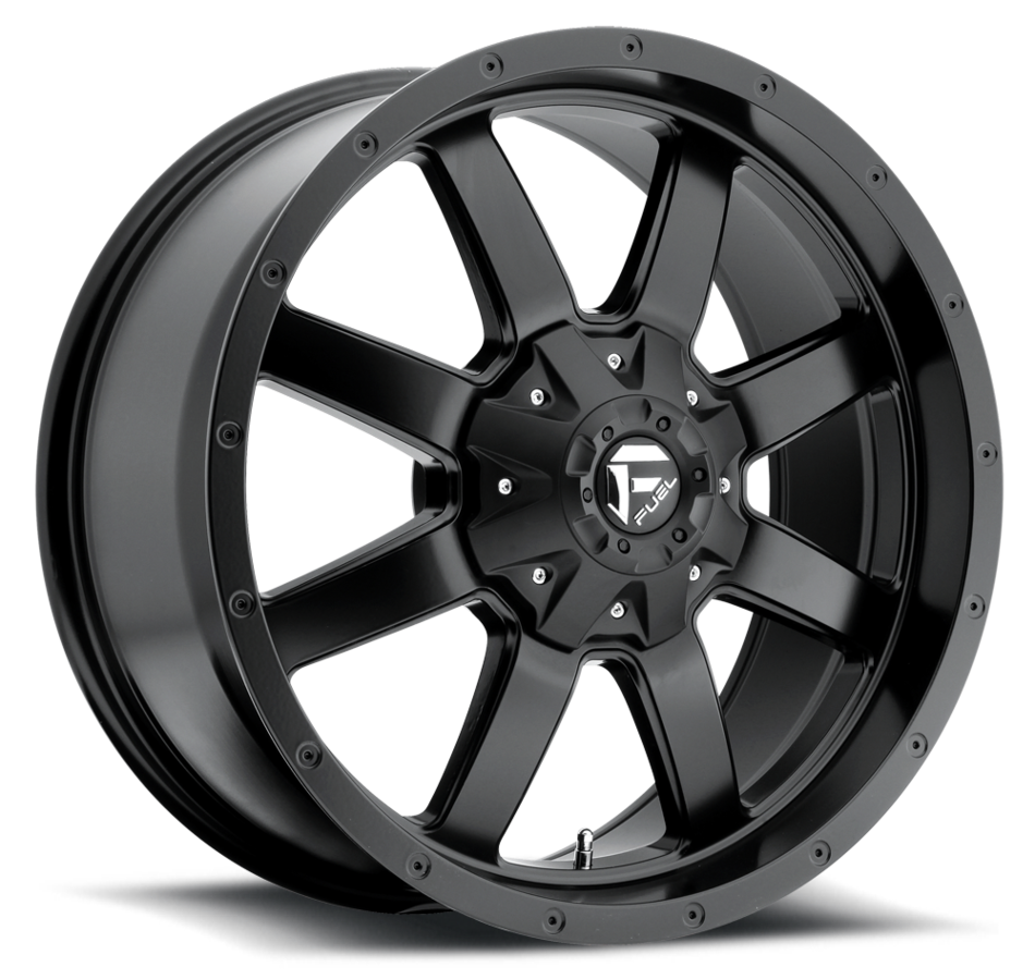 Fuel Frontier D545 Matte Black One Piece Off-Road Wheels