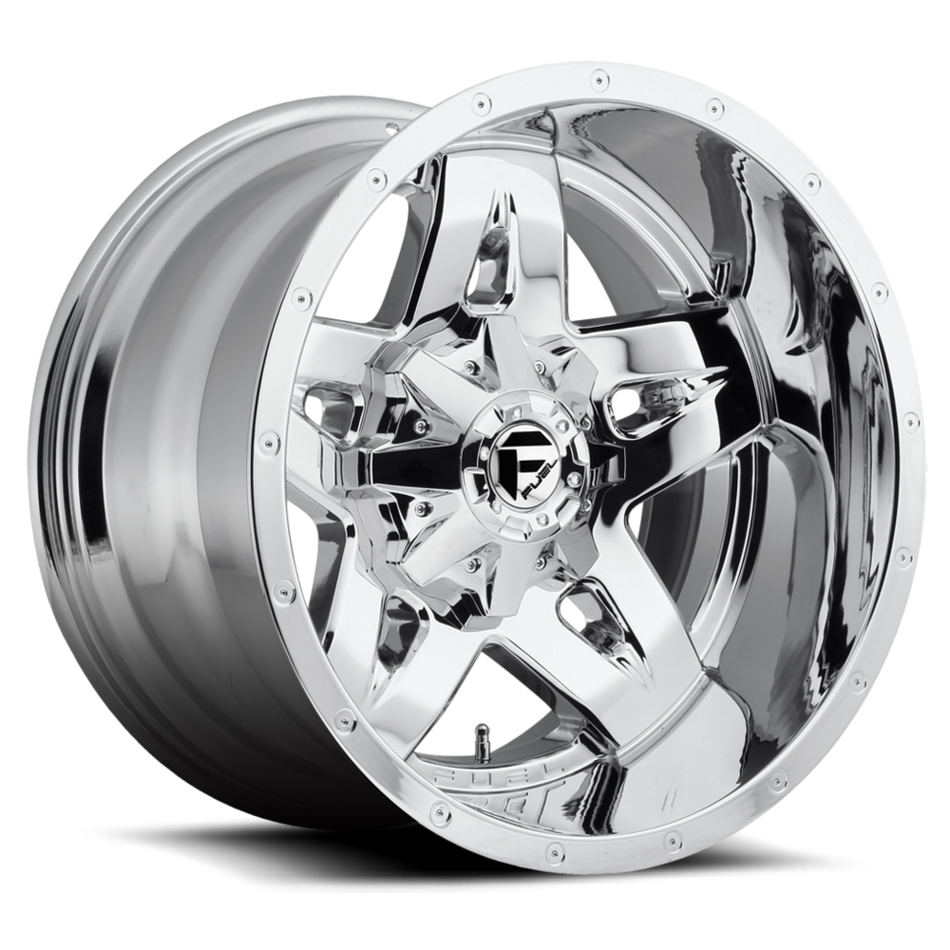 Fuel Full Blown D553 Wheel | Deep Lip | Chrome Finish
