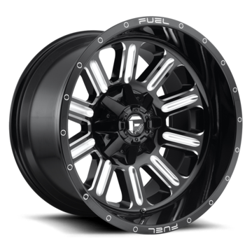 Fuel Hardline D620 One Piece Off-Road Wheels