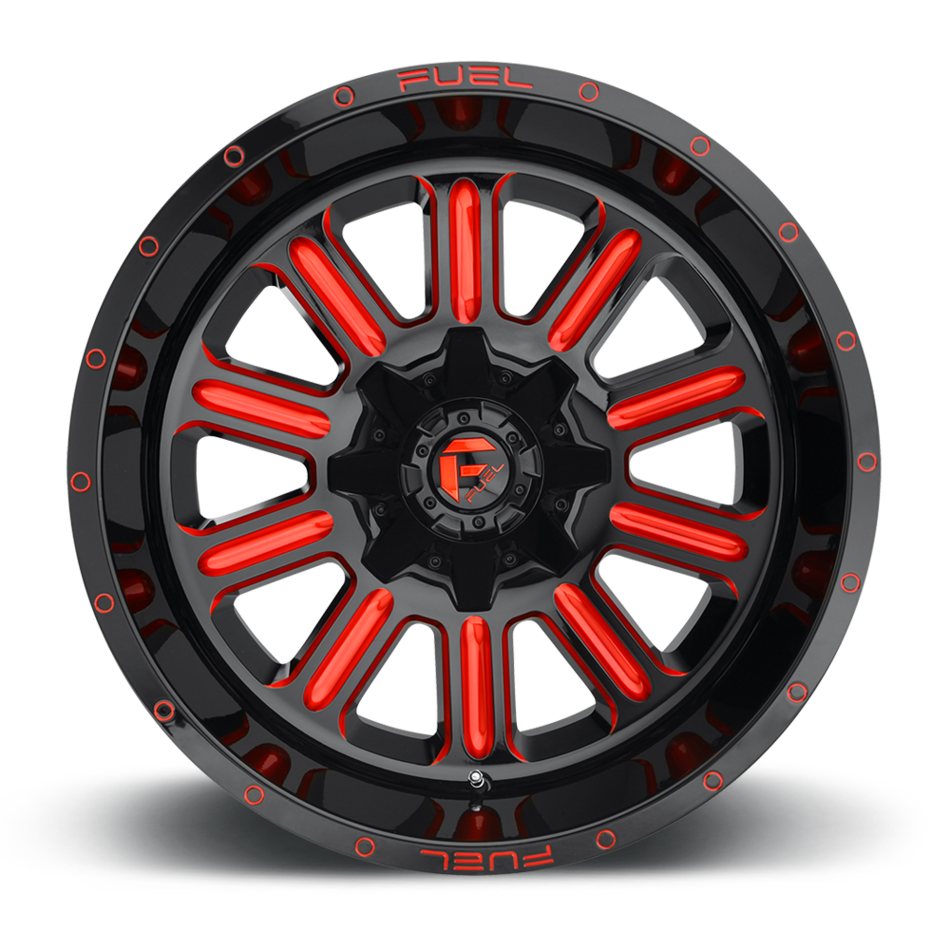 Fuel Hardline D621 One Piece Off-Road Wheels