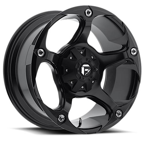 Fuel Havok D547 Black One Piece Off-Road Wheels