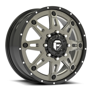 Fuel Hostage II D232 Custom Dually Two Piece Wheels - Front